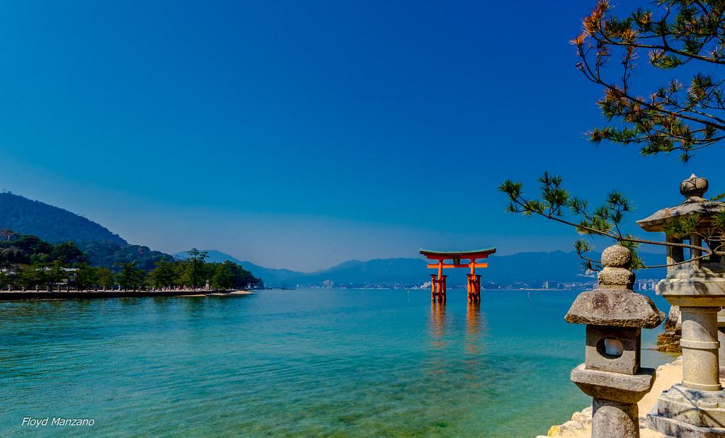 Oyster Island in Miyajima