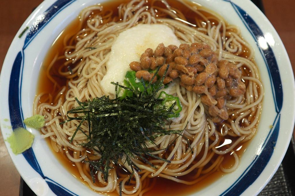 Natto with ramen