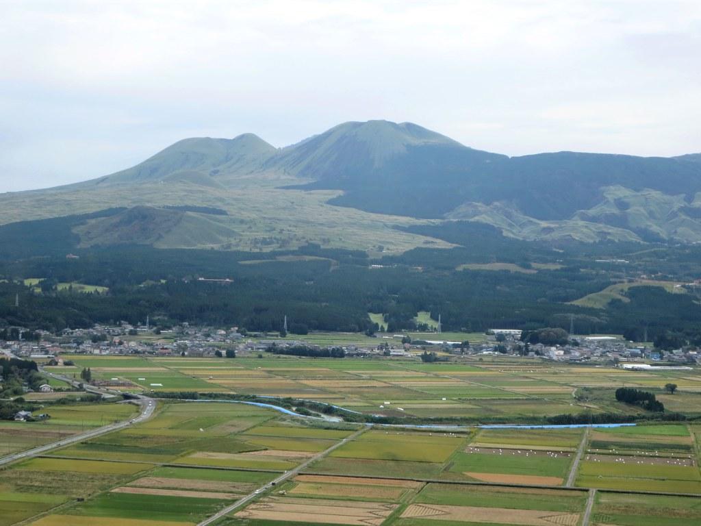 Mount Aso on Kyushu Island
