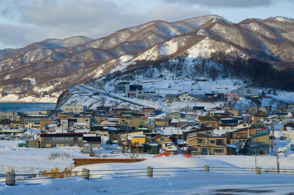 Mountainous Sapporo in Hokkaido