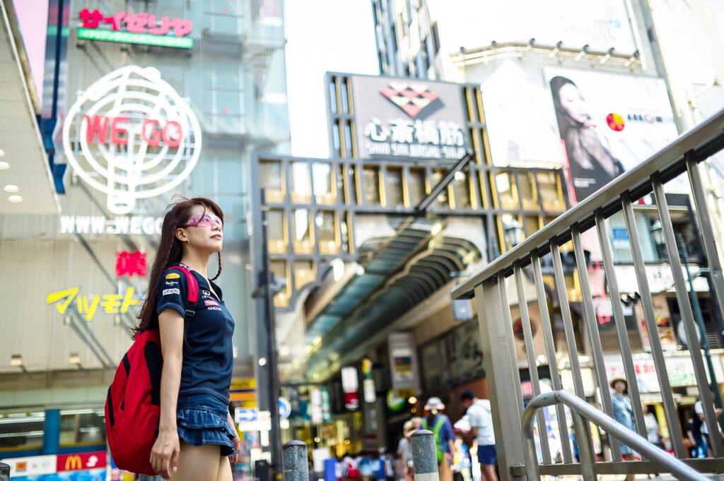 Solo Female Traveler in Japan