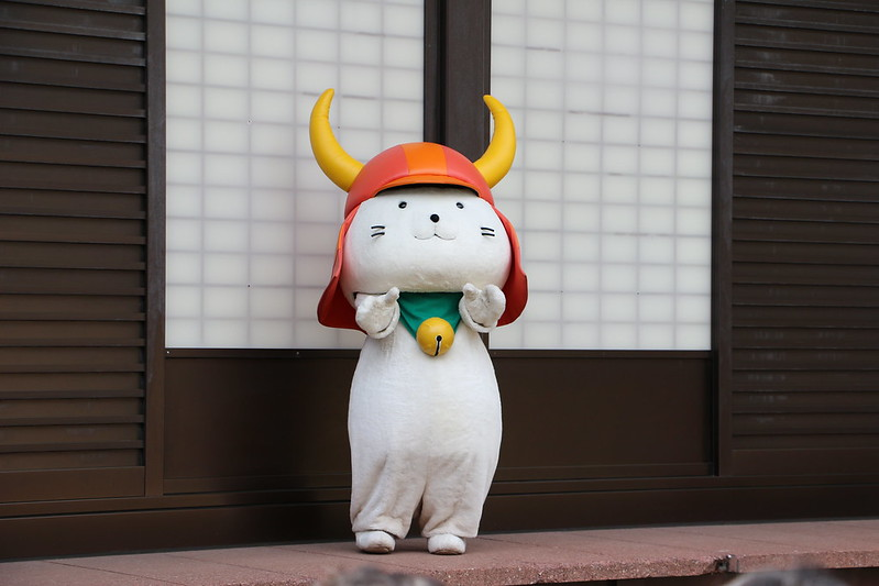 Japanese mascot industry became popular thanks to Hikonyan
