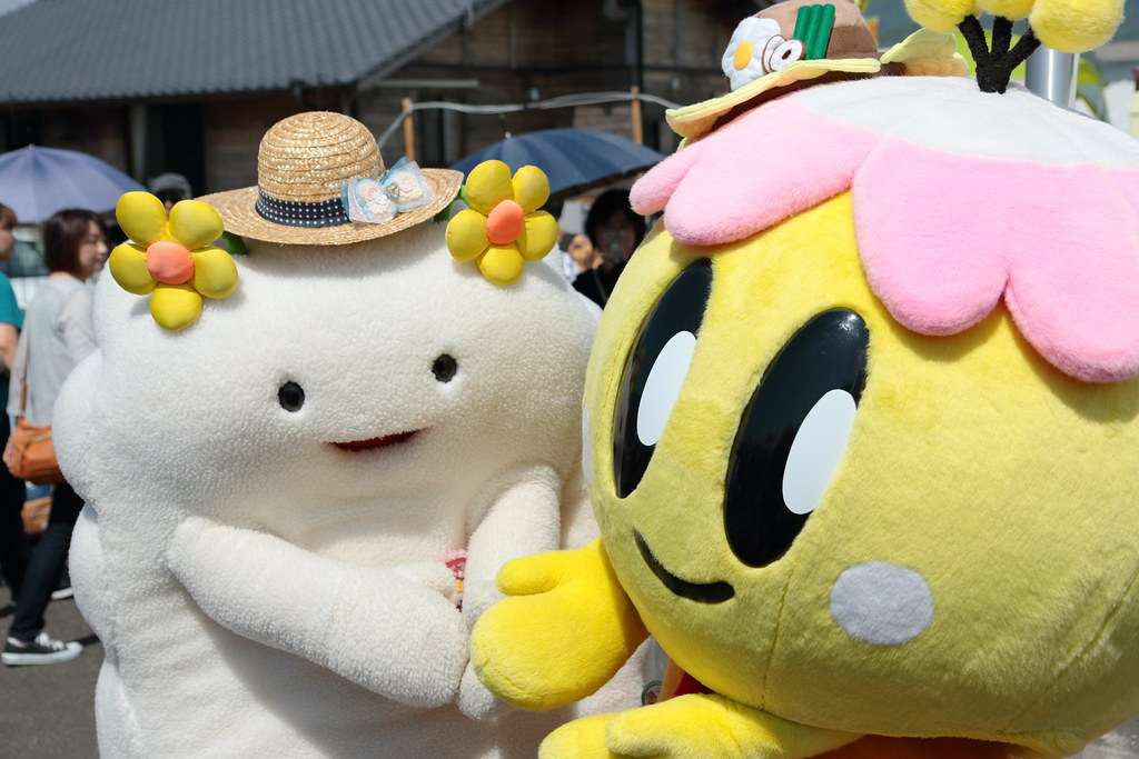 Mascots are among the most recognizable Japanese characters