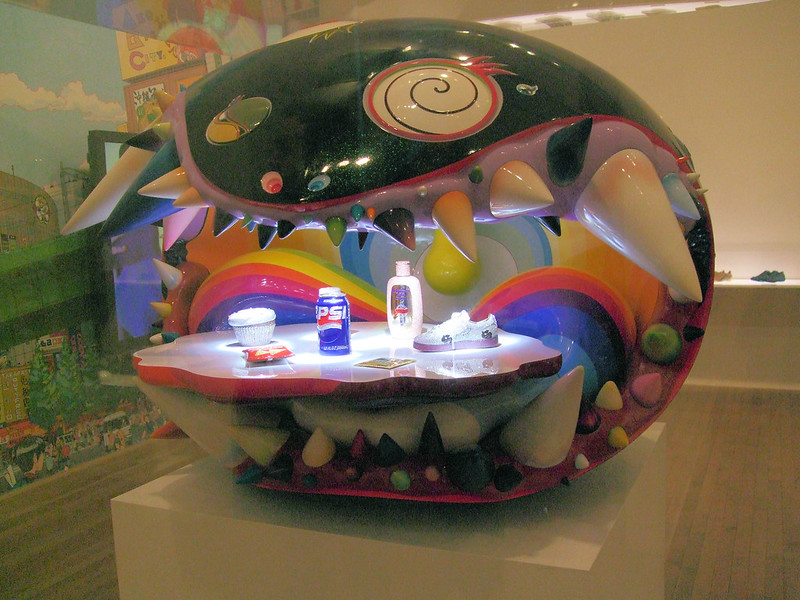 Takeshi Murakami's Art Exhibition titled The Simple Things, Pop Life