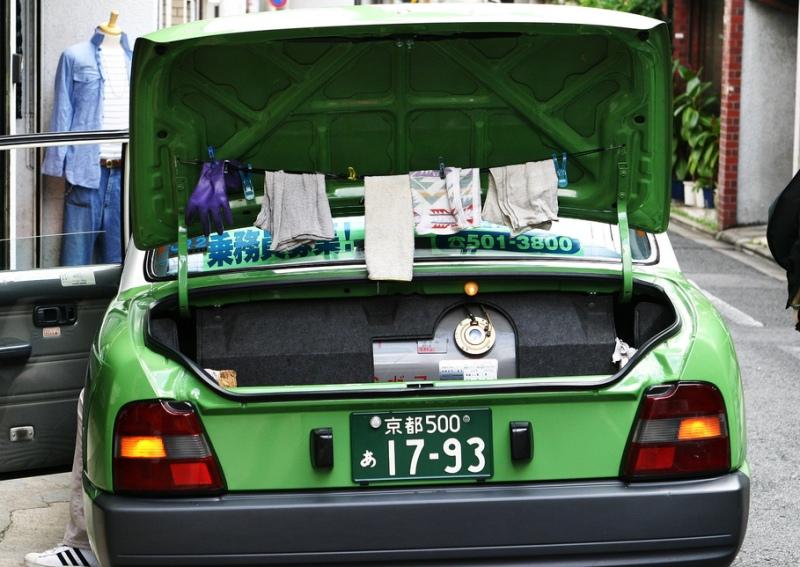 LPG Taxi Japan