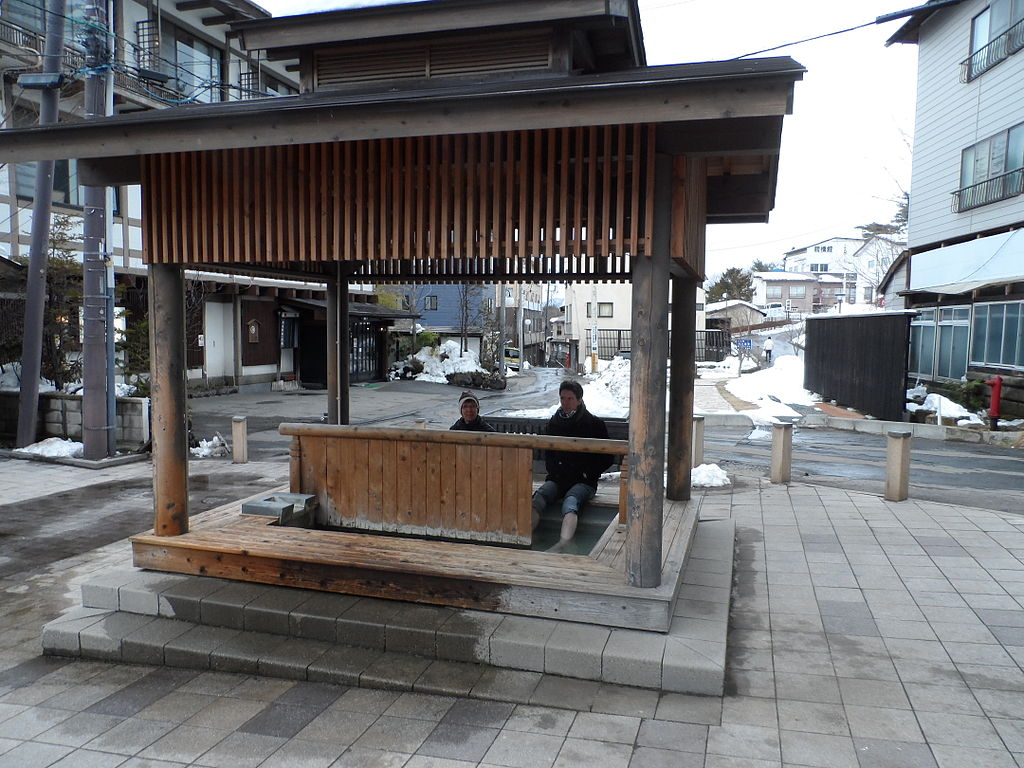 Kusatsu foot bath