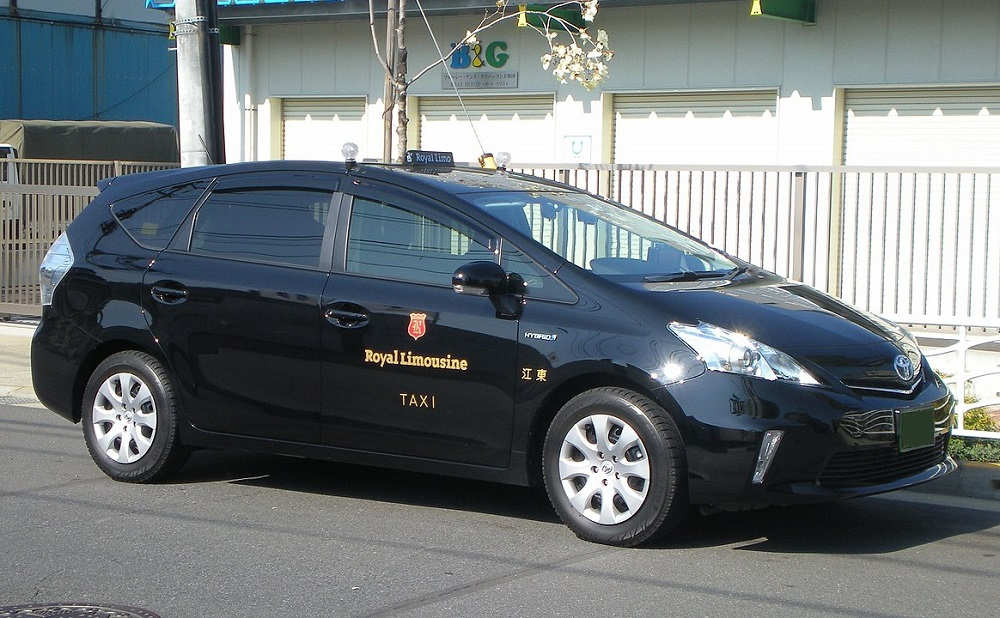 Luxurious Japanese Taxi