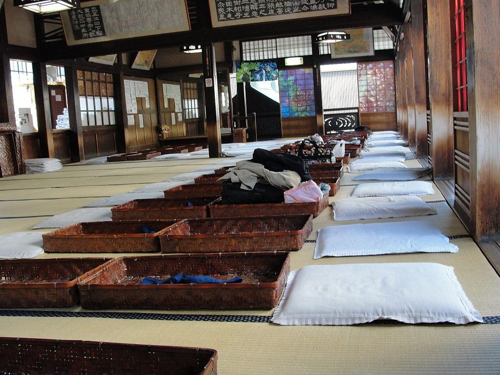 Tatami room in Dogo Onsen