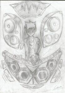 Manga art by a fan