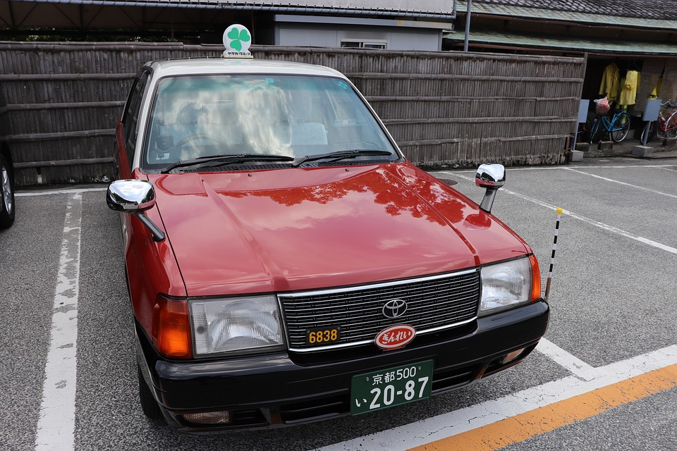 Red Taxi Japan