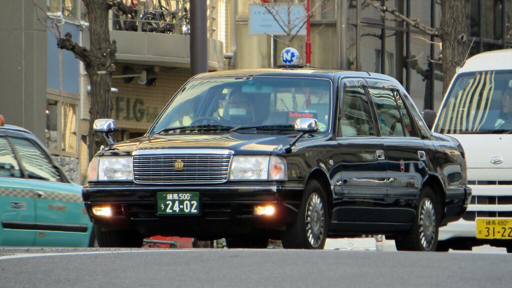 Tokyo Taxi Toyota Crown Comfort