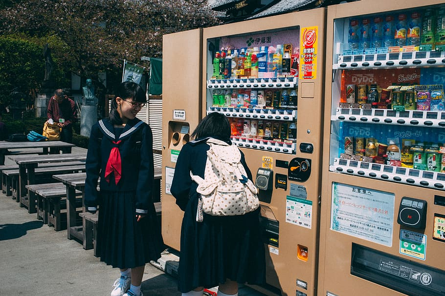 The beverages market completely took over the vending machine business