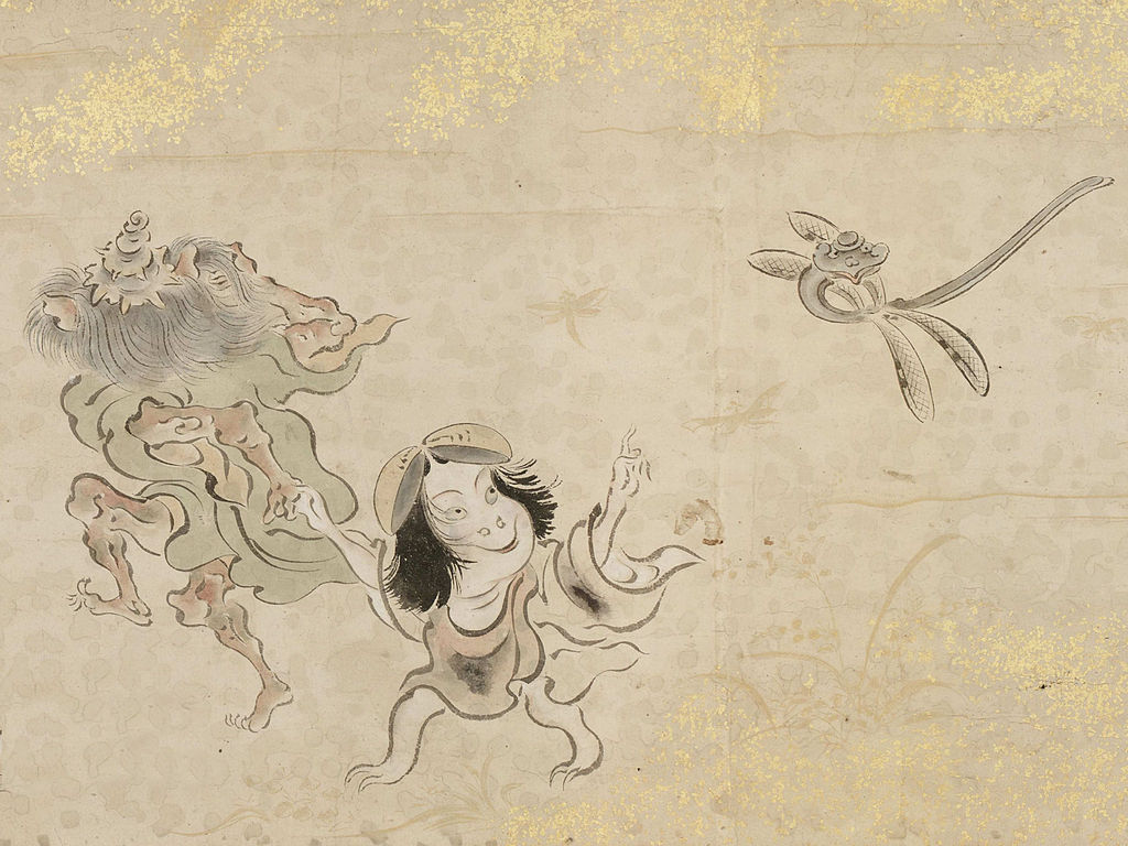 A little girl yokai