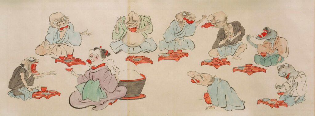 Depictions of Yōkai. Photo from Wikimedia Commons.