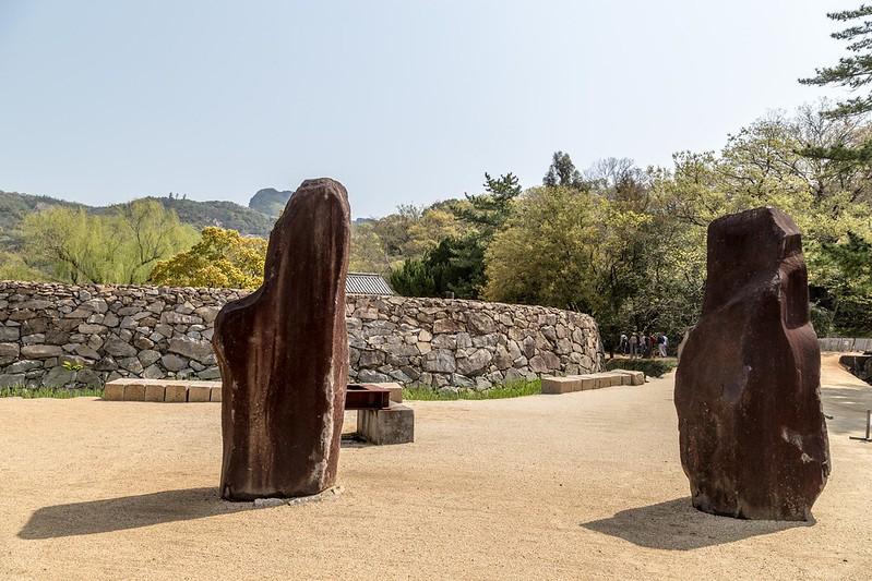 Isamu Noguchi Japan Garden Museum. Photo by Bruno Vanbesien on www.flickr.com.