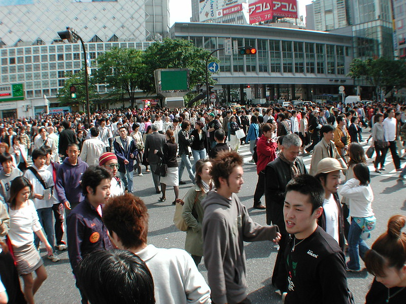 File Photo. People in Japan. Photo by num lok on www.flickr.com.