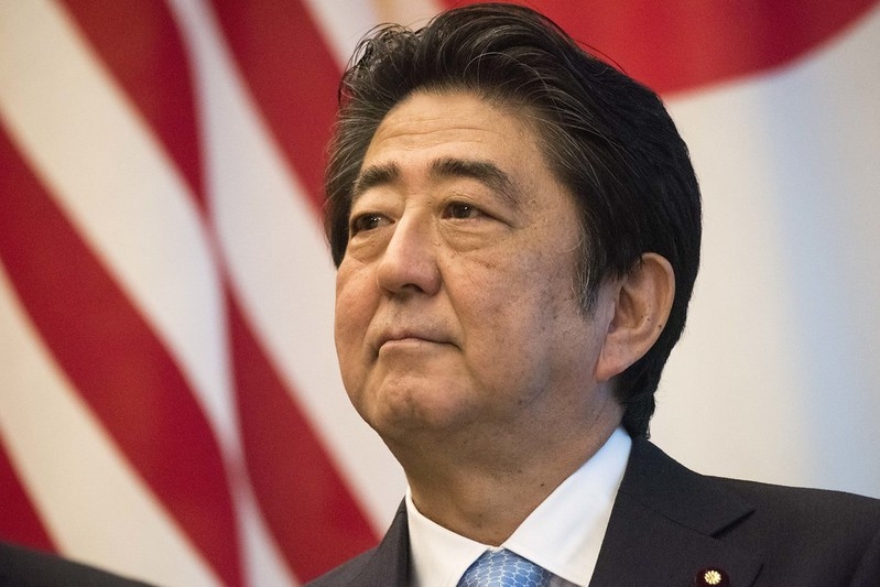 PM Shinzo Abe. Photo by Chairman of the Joint Chiefs of Staff on www.flickr.com