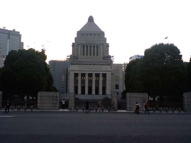 National Diet Building. Photo by keyaki on www.flickr.com