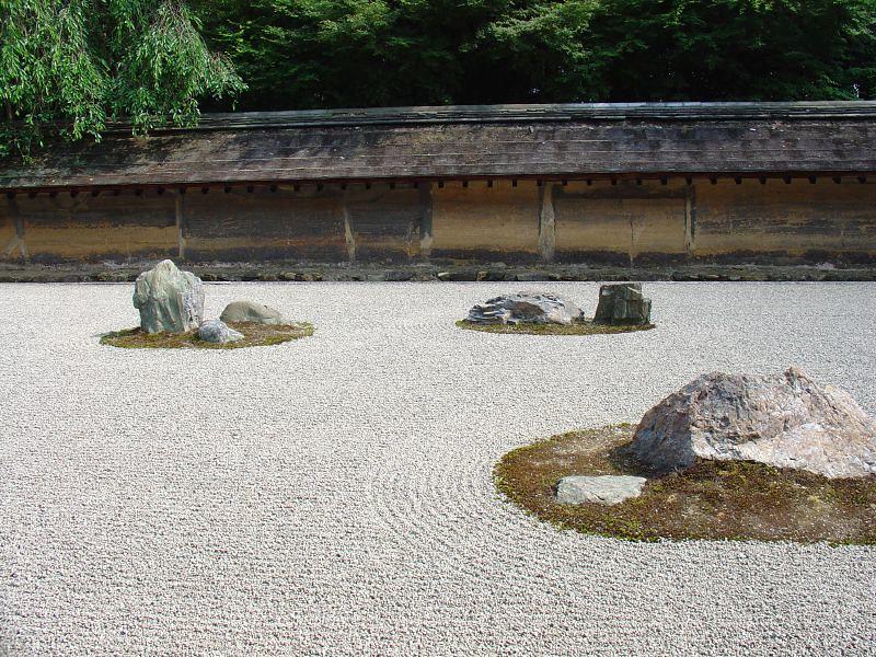 Ryoan-ji Zen Garden. Photo by amanderson2 on www.flickr.com.