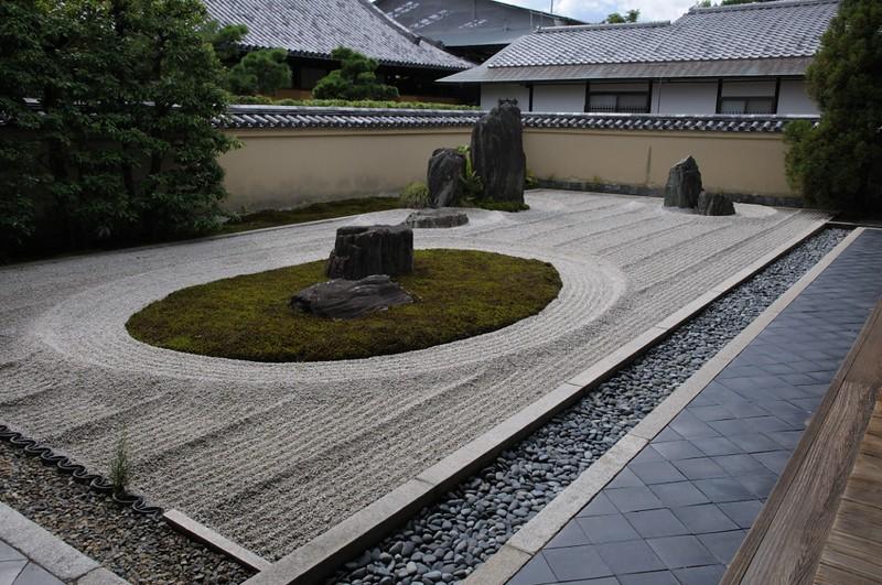 Daisen-in rock garden. Photo by juluj on www.flickr.com.