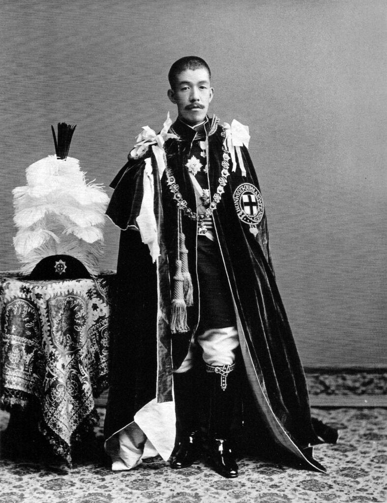 Emperor Taisho. Photo on Wikimedia Commons.