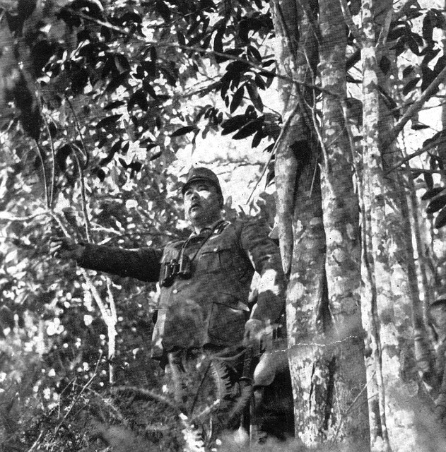 General Tomoyuki Yamashita during the Invasion of Malaya 1942. Photo by The Showa Daily on www.flickr.com.