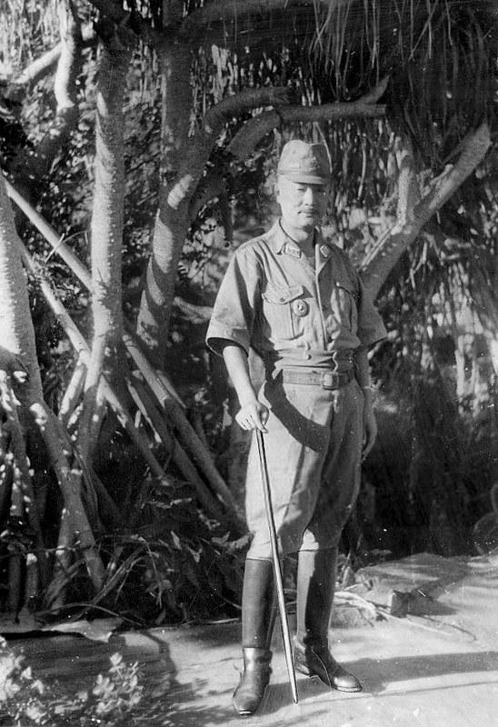 General Tadamichi Kuribayashi in Iwo Jima Late 1944. Photo by The Showa Daily on www.flickr.com.