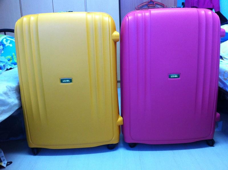 Lojel Suitcases. Photo by Kelvin Tan on www.flickr.com.