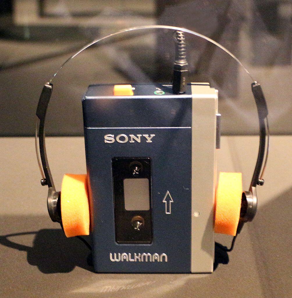 An old Sony Walkman