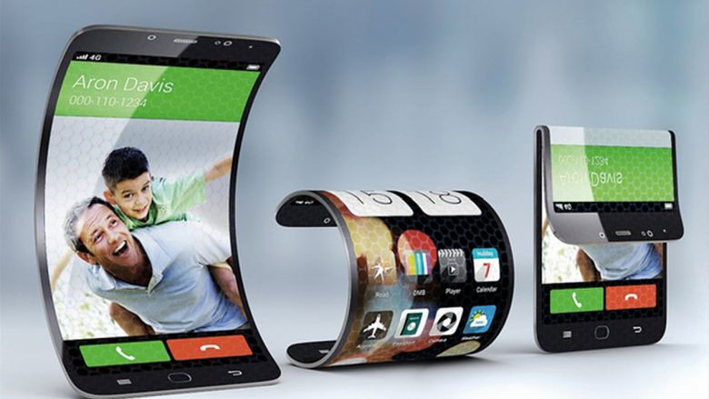 Prototype foldable phone. Photo by shawon.nsr shawon on Flickr.