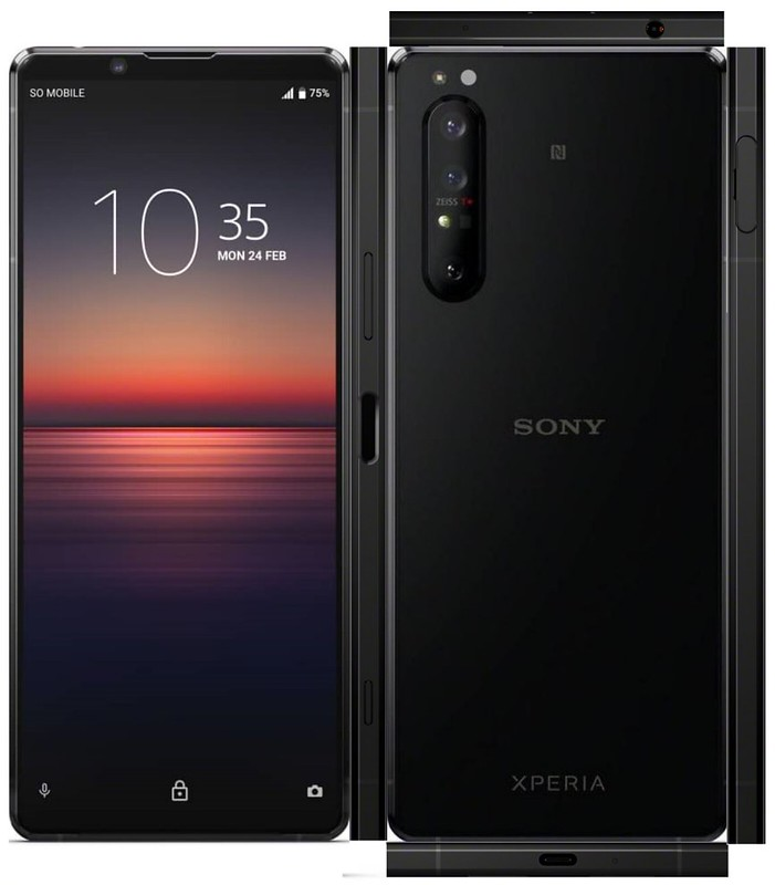 Sony Xperia 1 II. Photo by Hideo on Flickr.