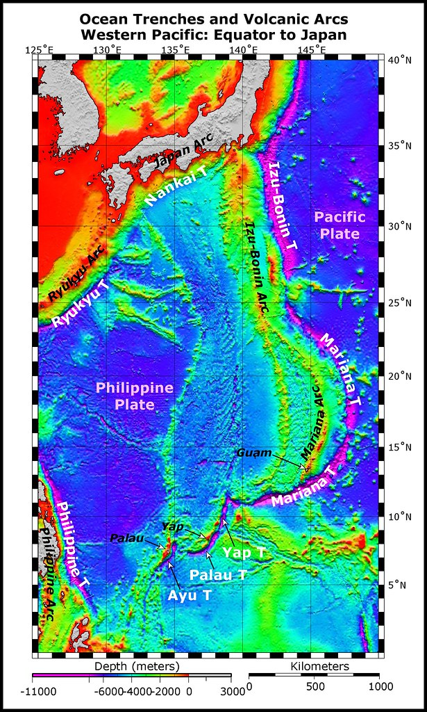 Ocean Trenches