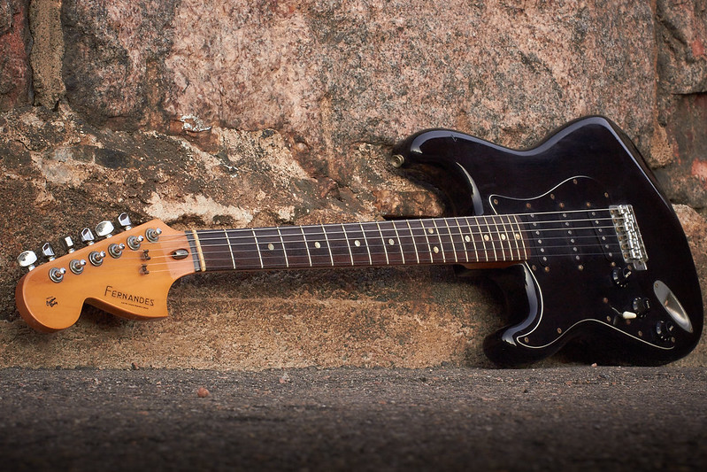 Fernandes guitar. Photo by Skipper Tail on Flickr.