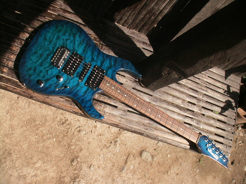 Ibanez Gio. Photo by khenshien on Flickr.