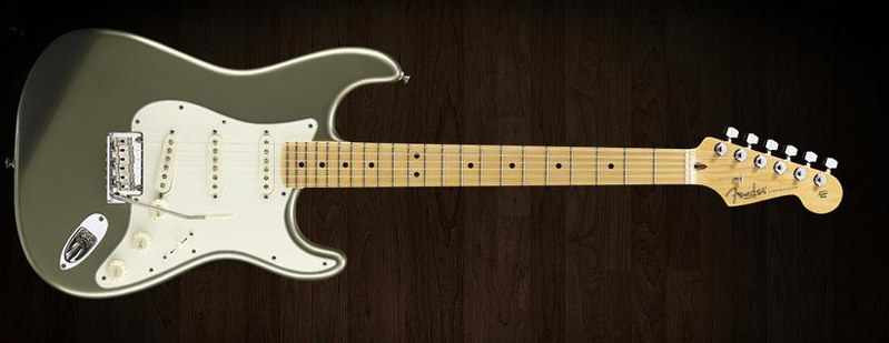 Fender Guitar. Photo by Larry Ziffle on Flickr.