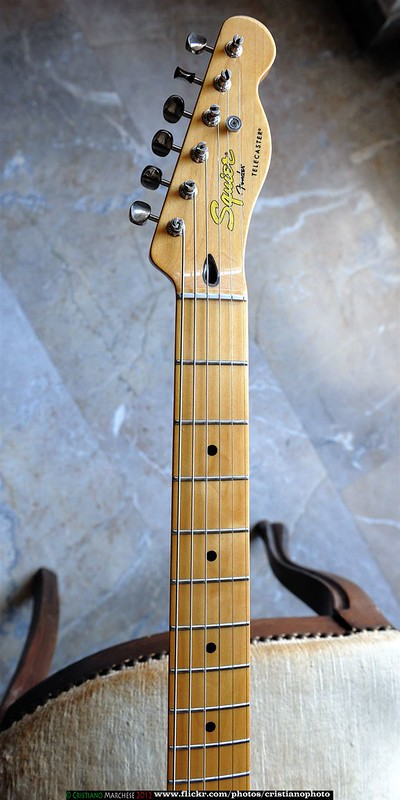 Fender Squier. Photo by Cristiano Marchese on Flickr.